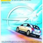 Publicité Opel