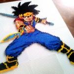 """Personnage de Dai du manga """"Dragon Quest : La Quête de Dai"""""""