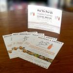 flyers et cartons d'invitation