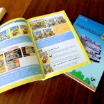 Pages de présentation des différents volets de la série.