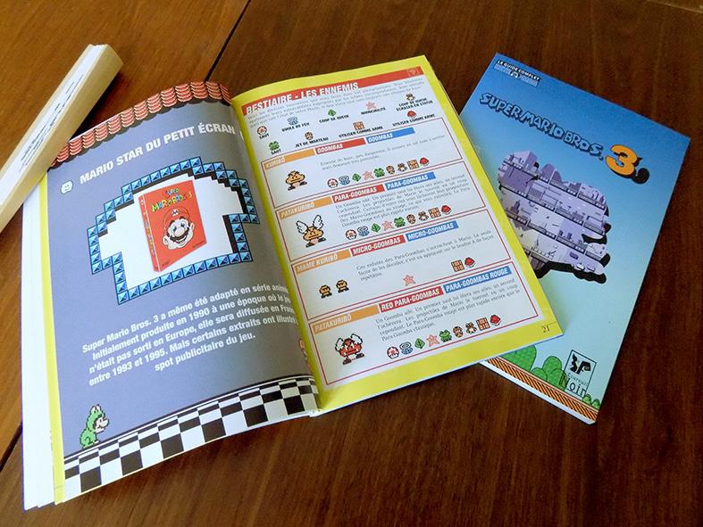 Trivia et première page du bestiaire du Guide Super Mario Bros. 3.