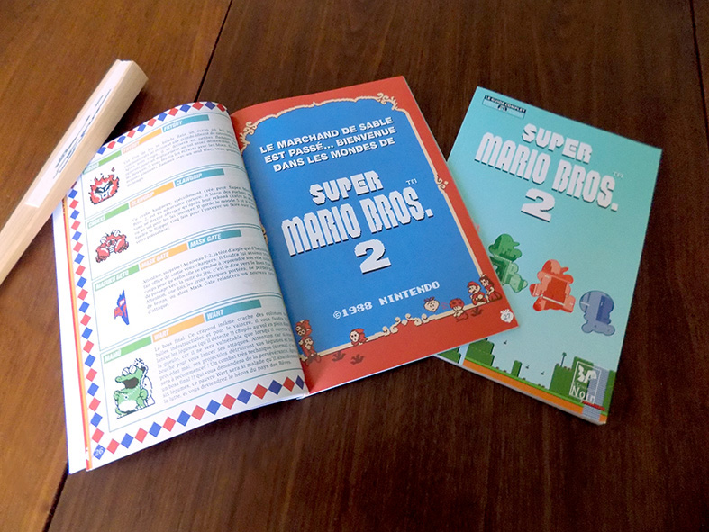 Pages d'introduction à la solution du Guide Super Mario Bros. 2.