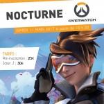Affiche Overwatch pour le Coffee Games de La Rochelle.