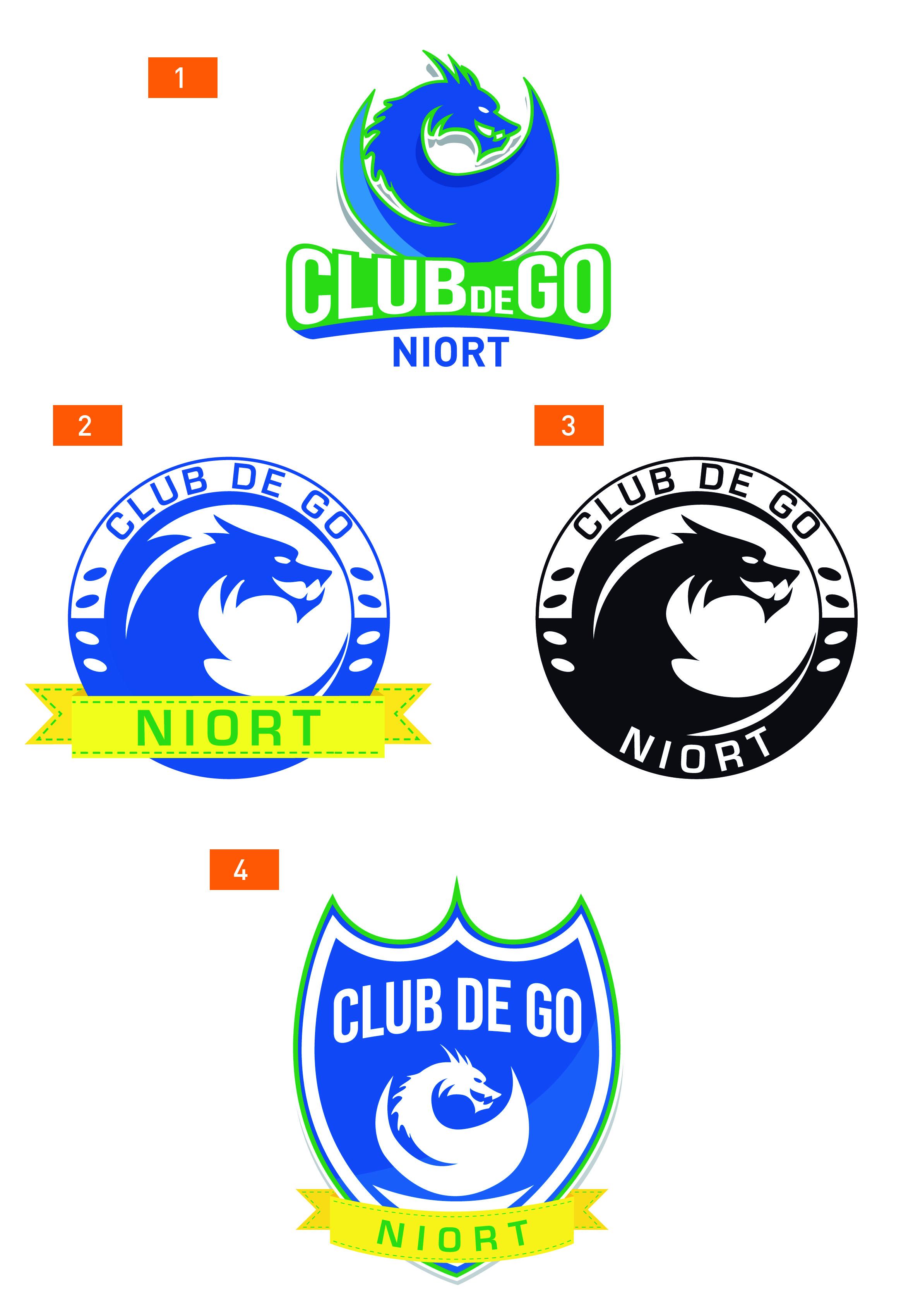 Propositions de logos pour le Club de Go de Niort